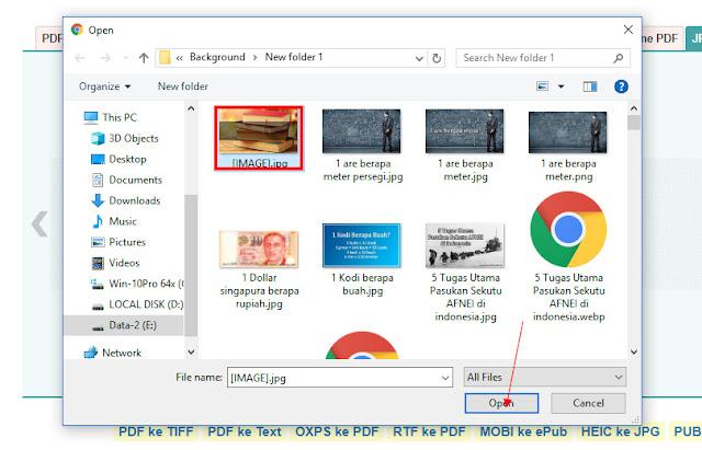 Cara Melakukan Convert JPG to PDF Secara Online