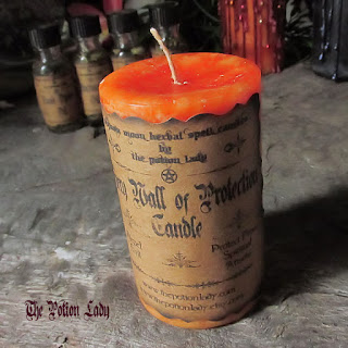 Fiery Wall Of Protection Spiritual Supplies by The Potion Lady