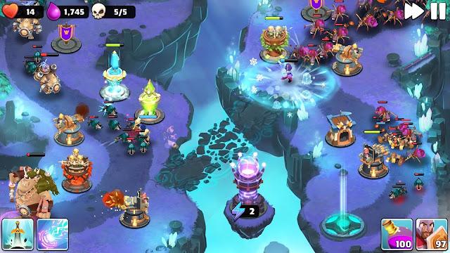 Screenshot Castle Creeps TD