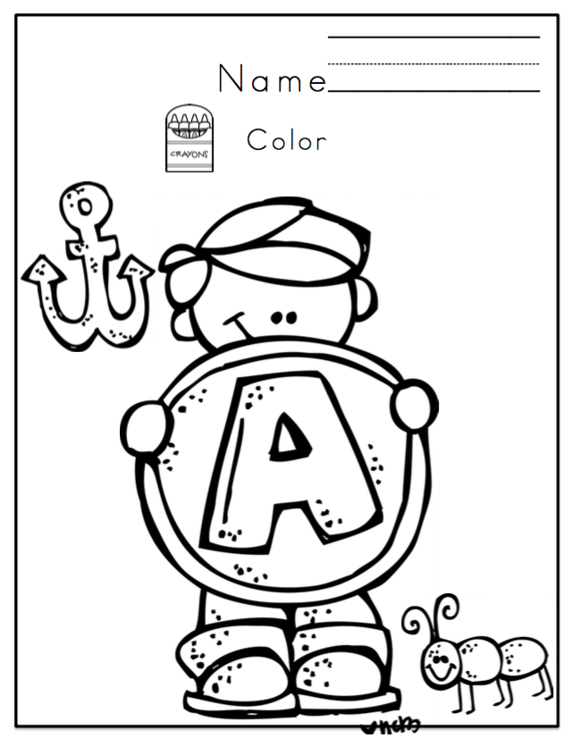 Preschool Packet Alphabet Fun ~ Preschool Printables