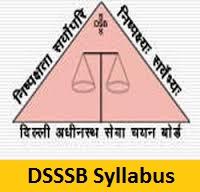 DSSSB Warder Syllabus