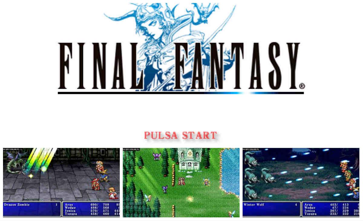 capturas Final Fantasy psp