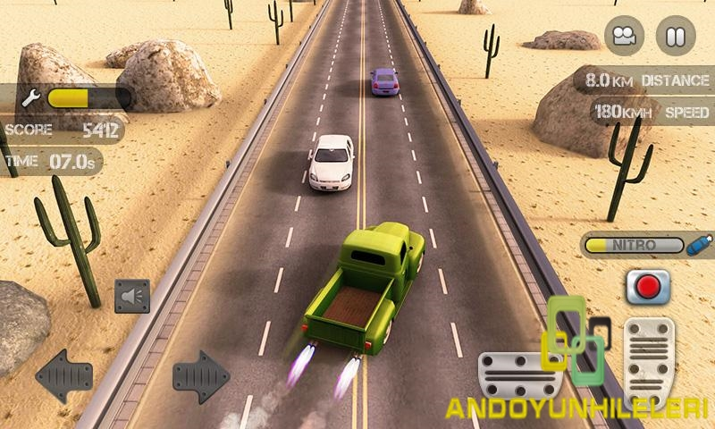 Race the Traffic Nitro v1.2.6 Hileli