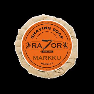 Razor Master Markku Whiskey shaving soap