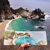 Maestra de arte pinta diario de acuarelas con el agua de los lugares a donde viaja.