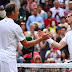 Wimbledon 2017: Andy Murray limps to five-set defeat against Sam Querrey in quarter-finals