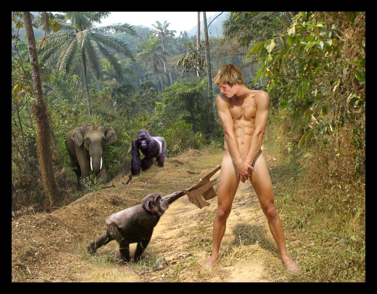 Скачать в джунглях видео порно