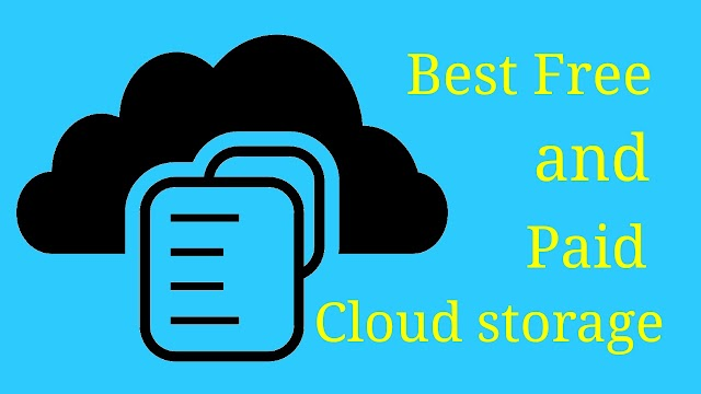 Which is the best free and paid cloud storage service providers