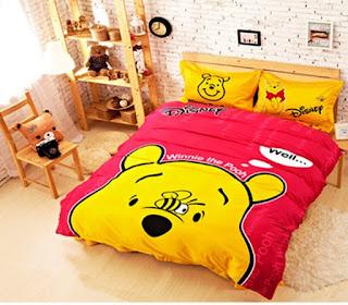 Gambar Desain Kamar Anak Tema Winnie the Pooh Konsep Terbaru 2008