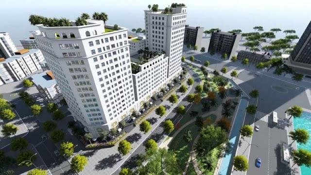Tổng thể dự án chung cư Ecocity Long Biên.