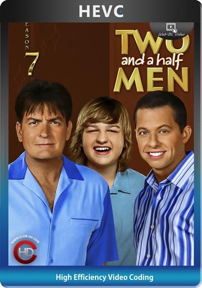 Two And Half Men (2009) S07 1080p AMZN WEB-DL Dual Latino-Inglés [HEVC-10bit] [Subt. Esp] (Serie De TV. Comedia)