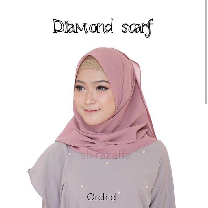 Tat Shop Pusat Hijab Sidoarjo Pahmina Diamond Scarf