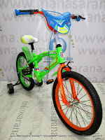 18 Inch Exotic ET18-9802 Sport BMX Kids Bike