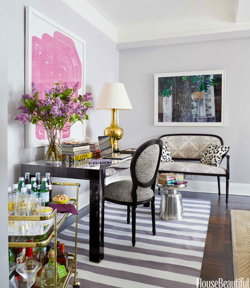 New York Appartment: Mix And Chic: Home Tour- A Stylish And Feminine New York
