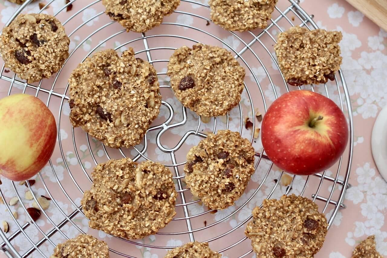 Rezept für Apfelkekse
