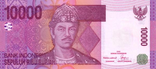 10 ribu rupiah 2004 depan