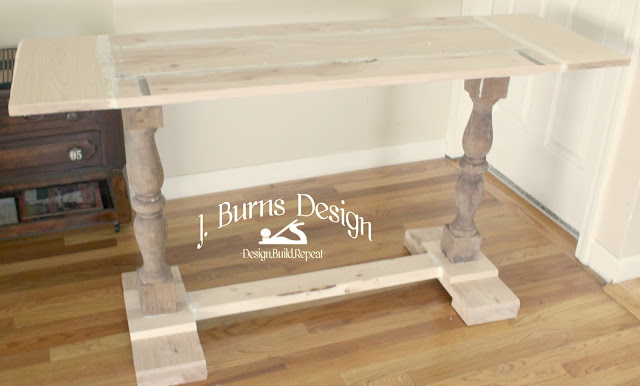 baluster table build unfinished