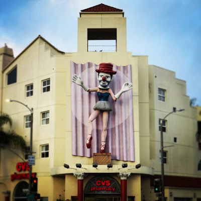 From Venice Beach to Santa Monica: Ballerina Clown