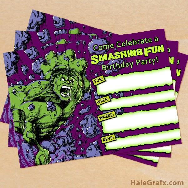 Mini Kit De Hulk Para Imprimir Gratis E Imágines Ideas Y