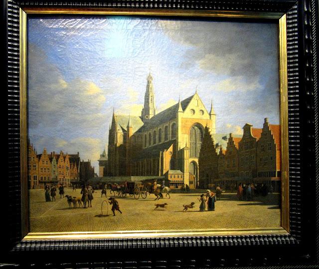 Grote Markt O que ver em Haarlem Holanda