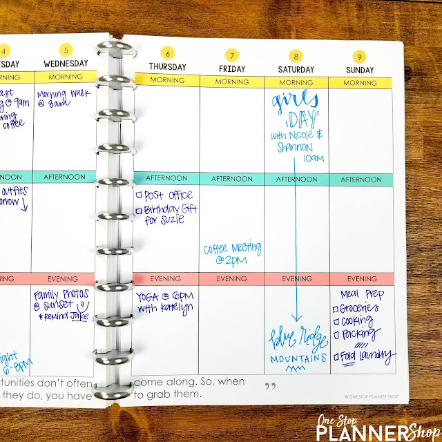 These life hacks for teachers are sure to help any busy teacher reduce stress and live a happier life by planning meals, using a life planner, and leaving work at work.