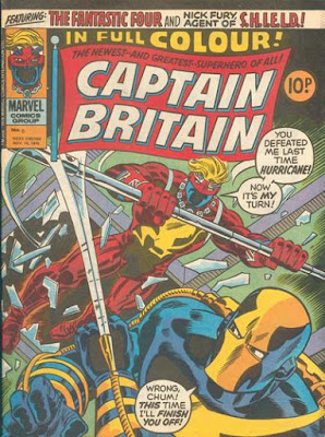 Marvel UK, Captain Britain #5, the Hurricane