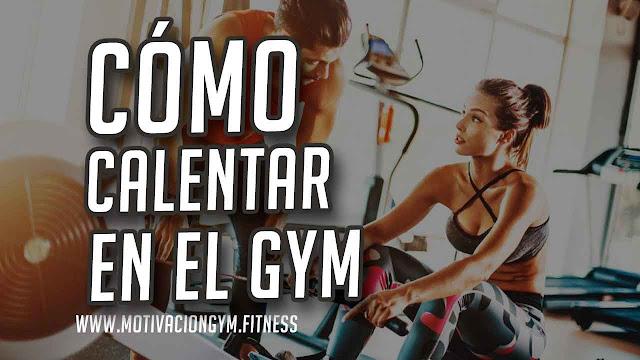 calentamiento gym