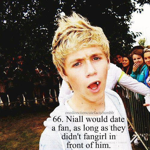 Niall horan facts about dating