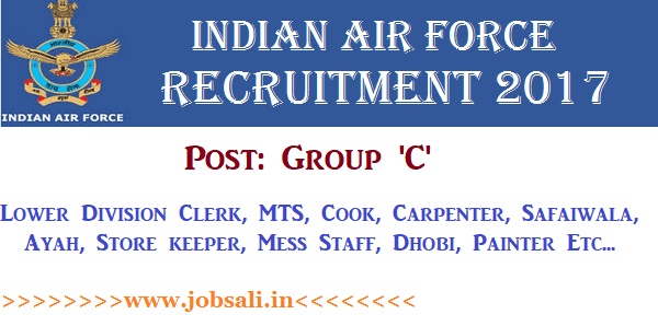 Indian Air Force Vacancy for 12th pass, Join Indian Air Force, Indian Air force jobs