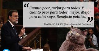 Rajoy dejándolo todo claro