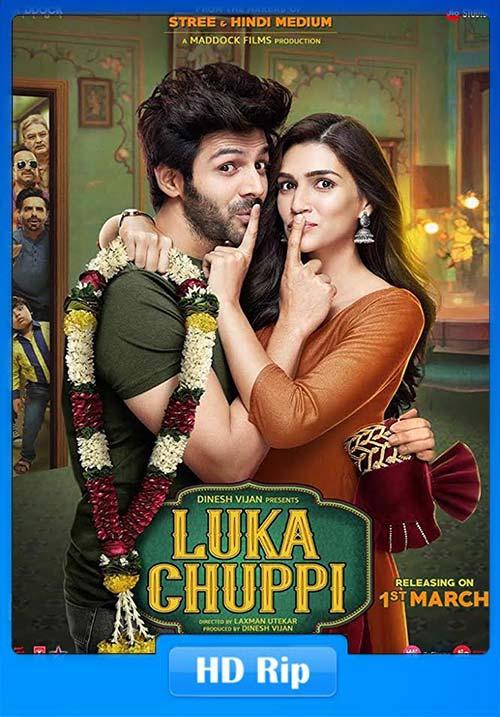 Luka Chuppi 2019 Hindi 720p WEB-HD ESub x264 | 480p 300MB | 100MB HEVC