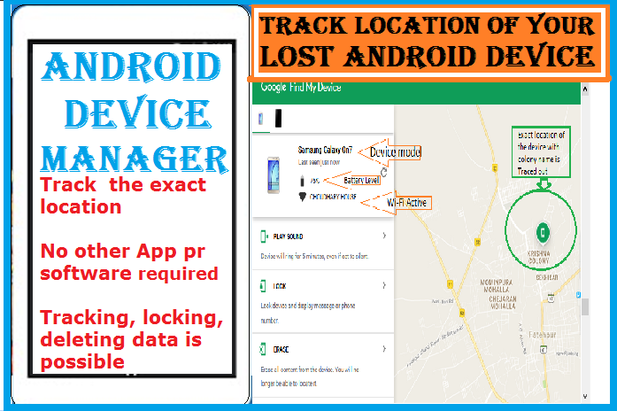 Android Device Manager-Find my Phone