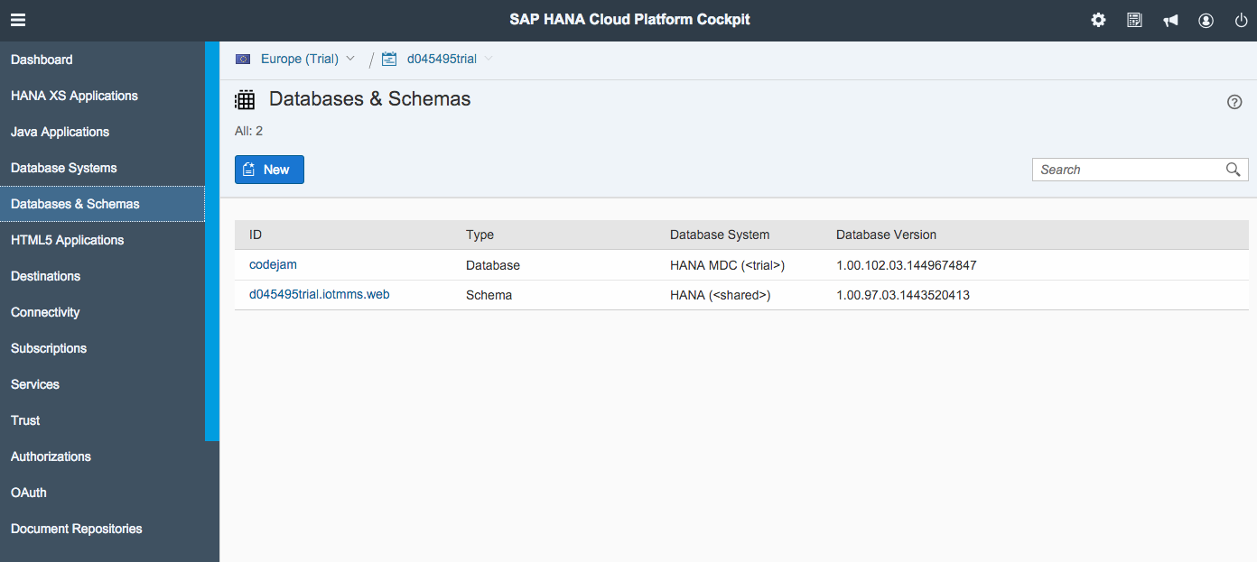 Sap hana tutorial material and certification guide sap hana xs classic access your first data in a sap hana xsc application baditri Image collections