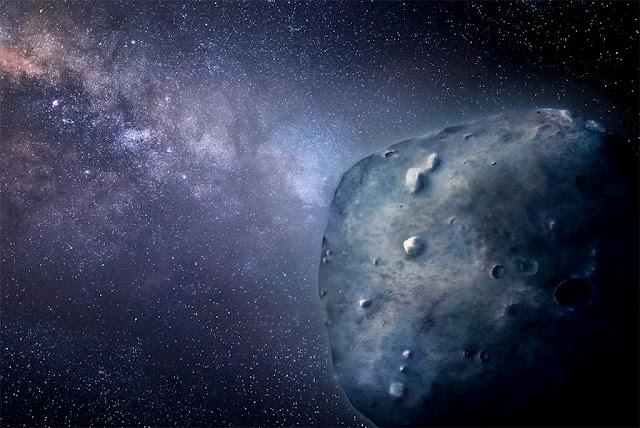 Ilustração artística do asteroide 3200 Faetonte