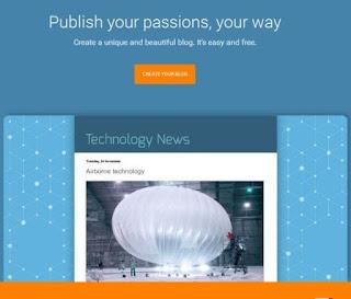 Cara mudah membuat blog gatis di blogger.com