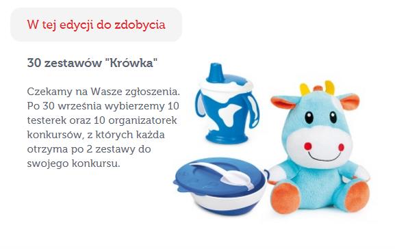 Znalezione obrazy dla zapytania zestaw krówka od canpol babies
