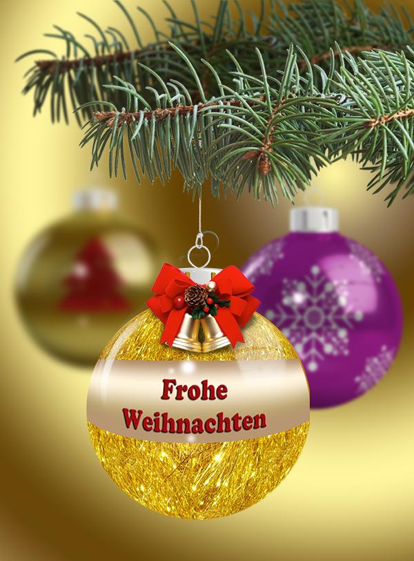 Weihnachtsbilder Mit Kugeln.Weihnachtsbilder Downloaden Christbaumkugeln Weihnachtsgrüße