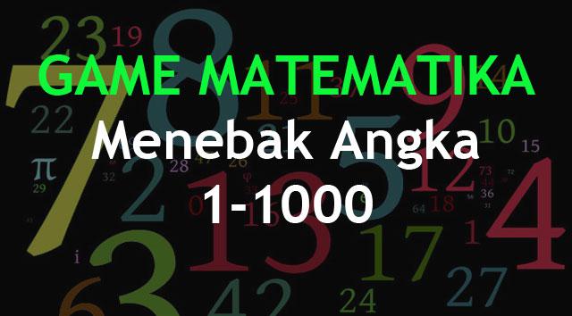 Game matematika menebak angka