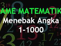 Game Matematika Menebak Angka 1-1000