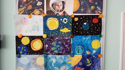 Космический урок-квест по русскому языку