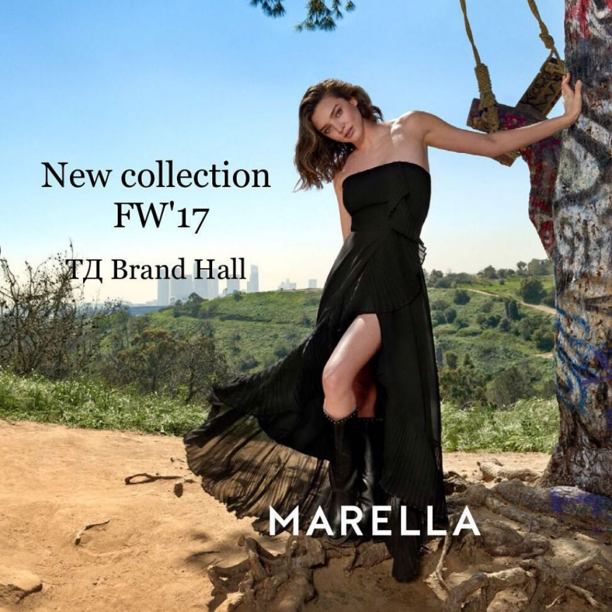 Miranda Kerr stars in the Marella Fall/Winter 2017 Campaign