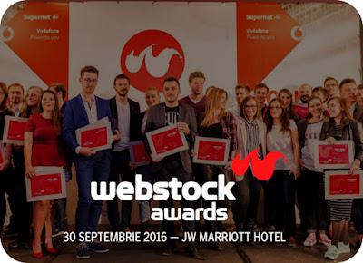 Toamna se numara premiile la Webstock Awards