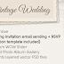Vintage Wedding Responsive WordPress Theme