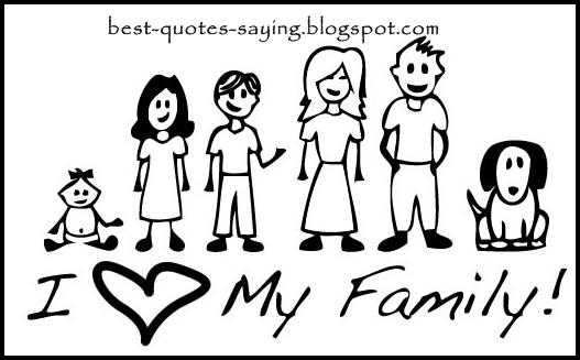 I Love My Family Quotes