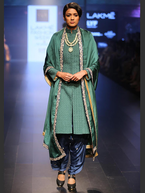 SVA suit lakme fashion week