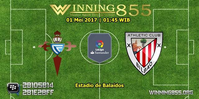 Prediksi Skor Celta de Vigo vs Athletic Bilbao 01 Mei 2017