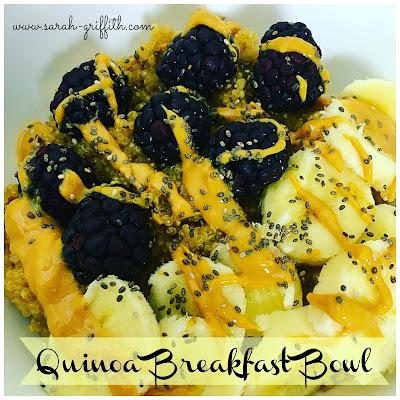 gluten free, gluten free breakfast recipes, gluten free breakfast, quinoa recipes, Hammer and chisel recipes, sarah griffith, top beachbody coach,