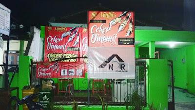 Kuliner Terbaru The Minthi's Ceker Dinamit Kota Malang 2017 pedas dan murah