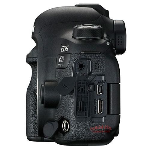 Canon EOS 6D Mark II, разъемы