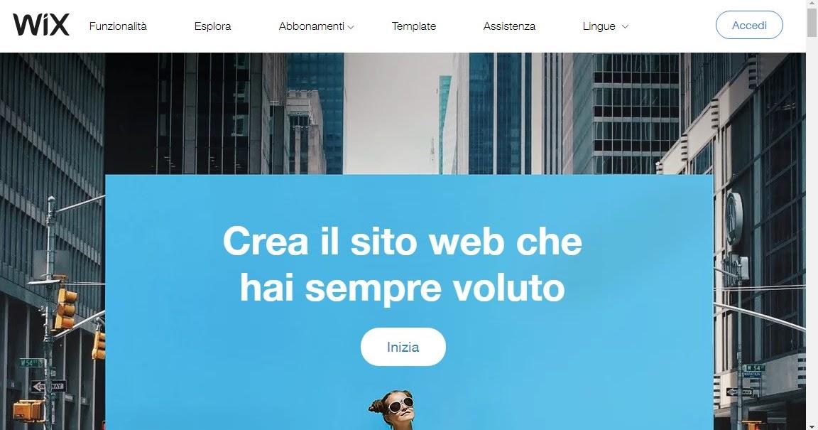 Wix: come creare un sito Web gratis con l'aiuto dell'intelligenza artificiale
